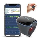 Fingertip-Schlafmonitor,Sauerstoffsättigungs-Monitor,Gesundheitsmonitor,der niedrige SpO2-Werte und die Herzfrequenz verfolgt,Kostenloser APP-PC-Bericht