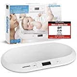GRUNDIG Babywaage | Digitale Kinderwaage bis 20Kg | digitale LED Anzeige | Gewichtskontrolle ab Geburt | LCD Display | Tara-Funktion | hohe Ablesegenauigkeit | automatische Abschaltung (Weiß)