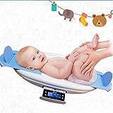 Digitale Babywaage Baby Digitale Kinderwaage bis 30Kg | digitale LED Anzeige Digitalwaage für Neugeborene mit Tarafunktion automatische Abschalt,Blue