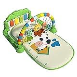 monshop Baby Spieldecke Mit Spielbogen, Spielbogen Baby Mit Musik Und Licht - Spielmatte Unterwegs Krabbeldecke, Baby Activity Spielmatte