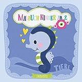 Malbuch Kinder ab 2 TIERE: Süßes Malbuch für Mädchen und Jungen ab 2 Jahre. Tierbabys von Elefant, Wal, Bär & Co. Das ideale Geschenk für den Kindergeburtstag.