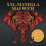 XXL-Mandala Malbuch - mit 100 Tiermotiven