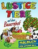 Lustige Tiere auf dem Bauernhof - Malbuch für Kinder ab 4: 30 witzige Tier- und Bauernhof Motive zum Ausmalen, tolles Geschenk für Kids von 4-8 Jahre