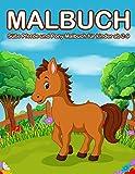 Malbuch Pferde ab 2 Jahre: Süße Pferde und Pony Malbuch für kinder ab 2-9 (Kids Coloring Book)