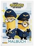 Minions - Auf der Suche nach dem Mini-Boss: Malbuch: Ausmalbilder mit allen Figuren aus dem neuen Film | (ab 3 Jahren) - Ab dem 01. Juli 2022 im Kino! (Minions 2 - Auf der Suche nach dem Mini-Boss)