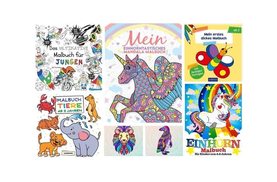 Malbuch für Kinder